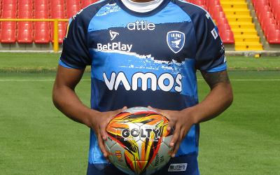 David Obando, uno de los grandes del fútbol capitalino.